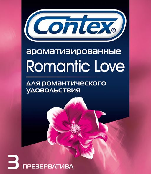 Презервативы Contex Romantic Love, презерватив, 3 шт.