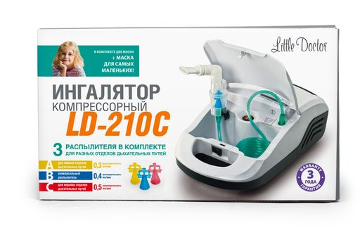 Ингалятор компрессорный Little Doctor LD-210C, LD-210C, 1 шт. цена